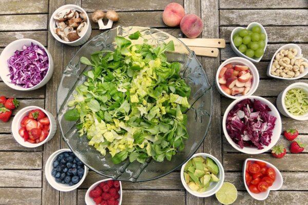 Frutta e verdura per abbronzatura perfetta