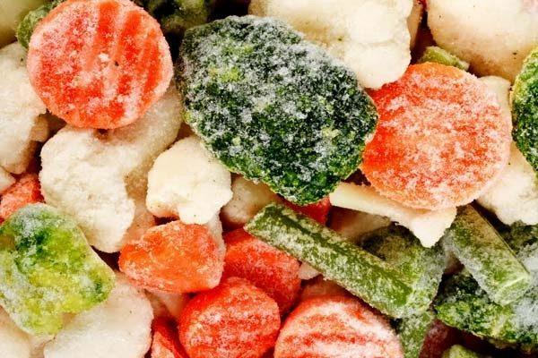 conservare alimenti congelati