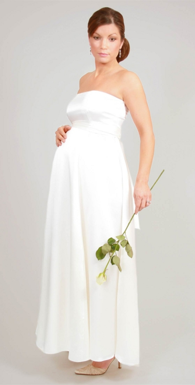 Molto Abiti da sposa per donne in gravidanza OM05