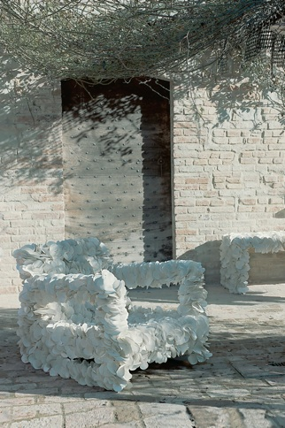 Matrimonio ecologico con 13 ricrea per allestimenti da for Arredi ecosostenibili