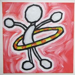 Come dimagrire con l'hula hoop