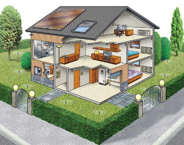 Come avere una casa tecnologica con la domotica for Come costruisco una casa