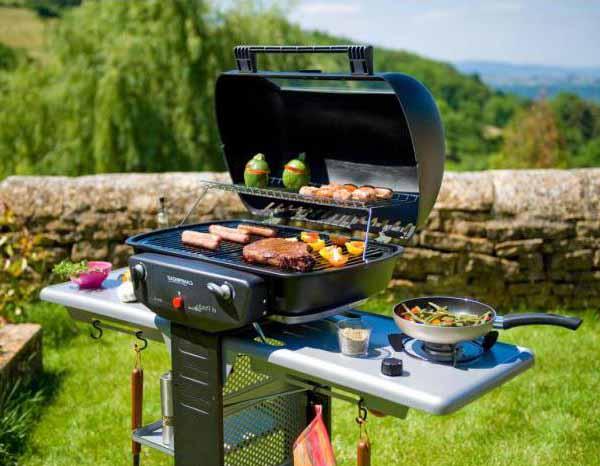 Modelli di barbecue in commercio