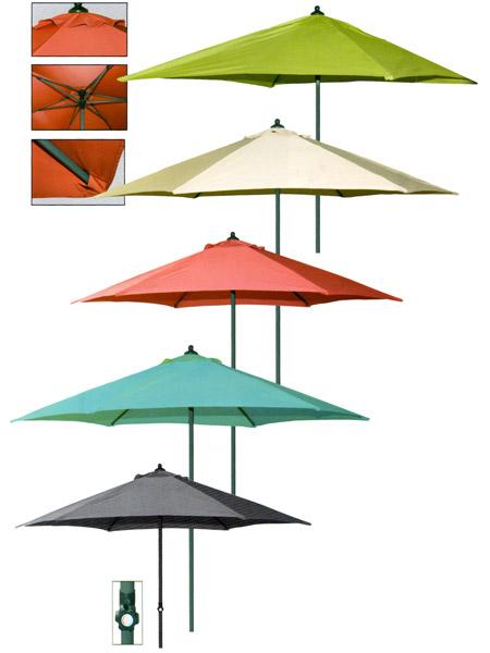 scegliere gli ombrelloni da giardino