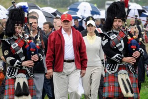 campi da golf: il trump international golf links