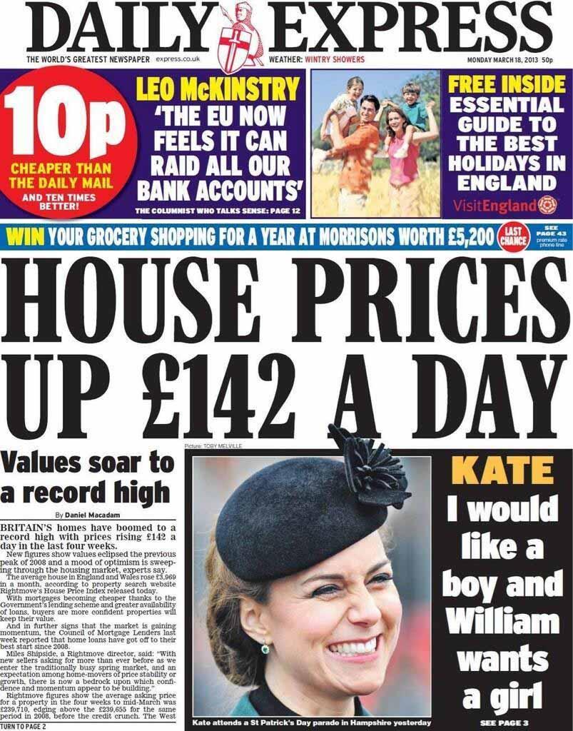Principali giornali inglesi quali sono for Giornali arredamento casa
