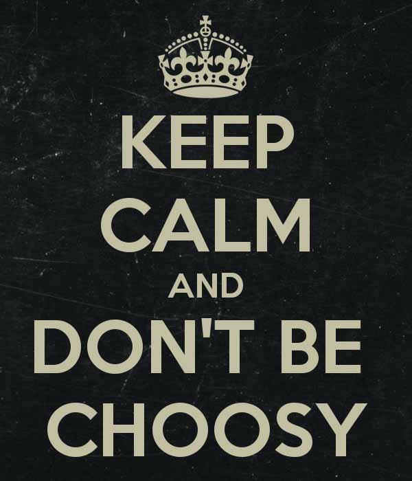 significato di choosy