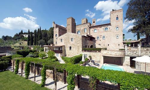 Ville e castelli per matrimoni in Umbria