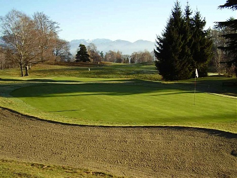 campi da golf in piemonte: il Golf Club Alpino di Stresa