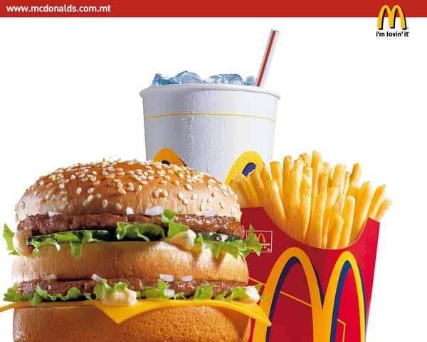 Cosa contengono i prodotti McDonald's