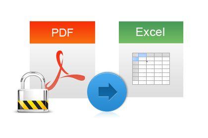 Come convertire file pdf in excel
