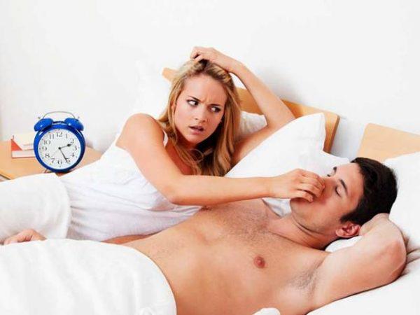 Come smettere di russare?