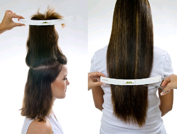 Si taglia i capelli da solo