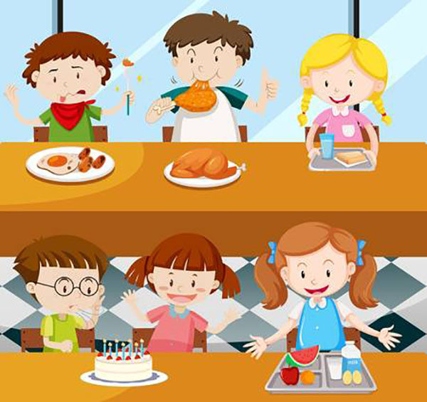 Come far mangiare i bambini