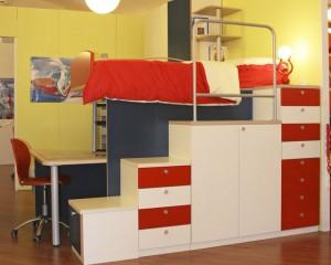 Come arredare la cameretta dei ragazzi in 4 metri quadri - Arredare camera da letto 9 mq ...