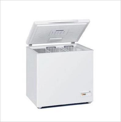 La scheda tecnica del congelatore