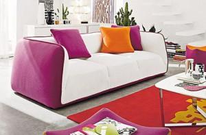 Come scegliere un divano - Come coprire un divano rovinato ...