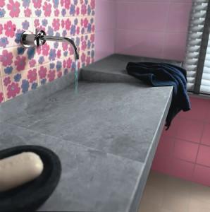 Quali piastrelle per il bagno - Colorare le fughe delle piastrelle ...
