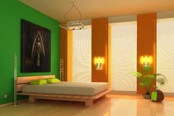 Cartongesso per camere da letto a parete - Dipingere camera da letto due colori ...