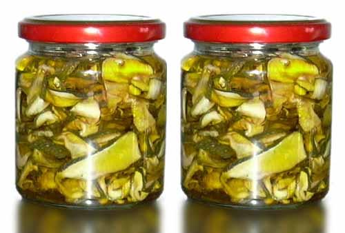 Come si preparano le verdure sott'olio?